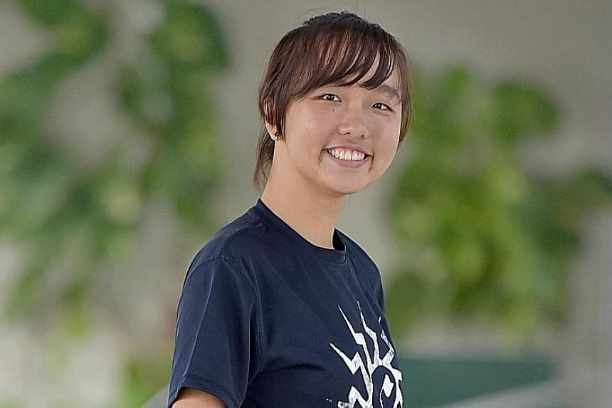 Ms Kelsie Tan got a job at the zoo after she finished her exams at Raffles Institution last year.