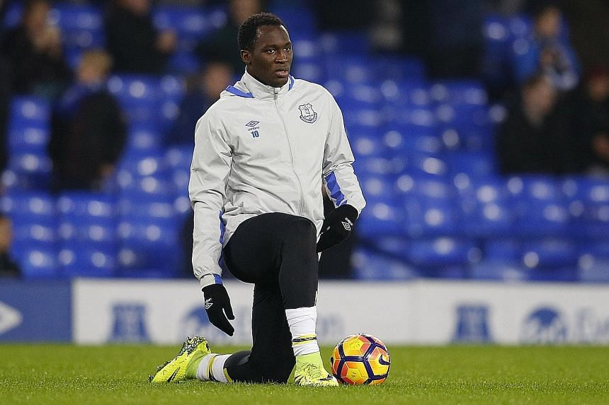 Everton's Romelu Lukaku is set to face Sunderland today after his recovery from a calf problem. The Belgium striker is the club's top scorer this season with 17 goals.