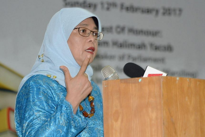 Speaker of Parliament Halimah Yacob noted that many older Singaporeans are making an effort to upgrade themselves.