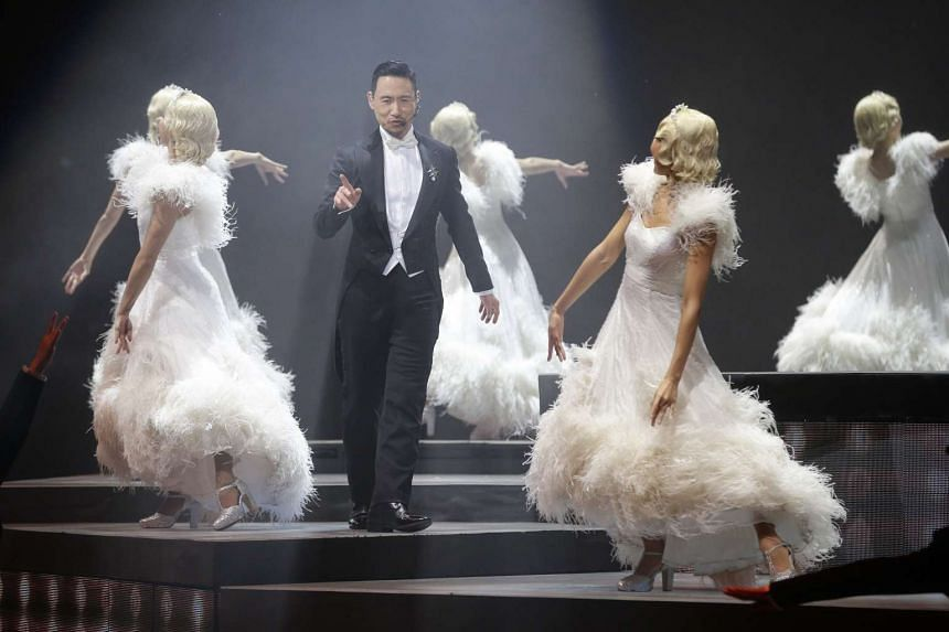 The Hongkong singer outdid even himself, presenting a visual extravaganza coupled with his impeccable vocals.