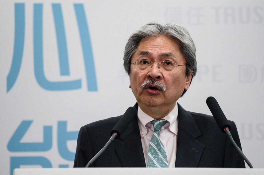 Former financial chief John Tsang said he had secured 160 nominations, slightly over the 150 minimum nominations required to qualify for next month's Chief Executive election.