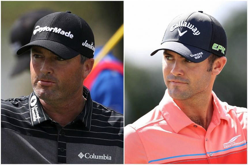 Ryan Palmer (left) and Wesley Bryan share the halfway lead at the Honda Classic.