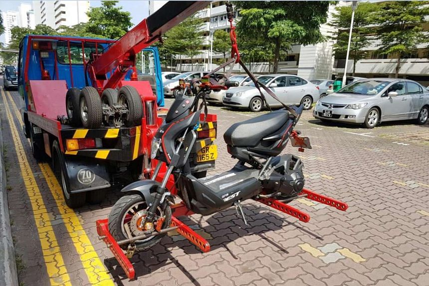 The LTA says it has impounded several personal mobility devices belonging to users found riding on the roads during recent enforcement operations. In just the first half of this month, it conducted more than 100 such operations.