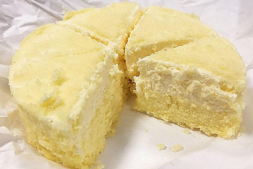 Fromage double cheesecake.