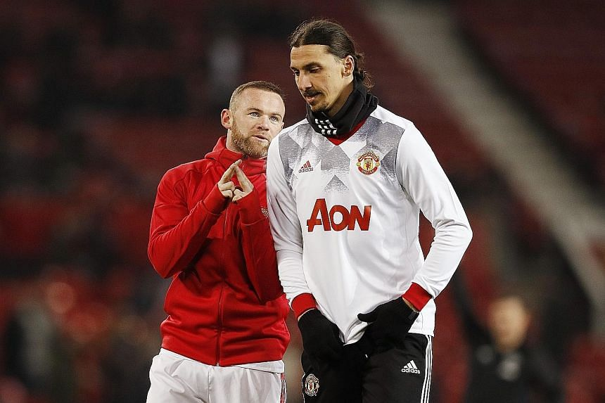 If Manchester United manager Jose Mourinho opts for a 4-3-3 formation for today's League Cup final against Southampton, his likely combination of forwards will be Zlatan Ibrahimovic (right) along with Anthony Martial and Juan Mata, thus diminishing t