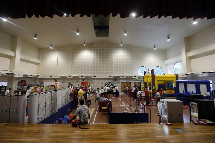 The new facilities include a fully air-conditioned multi-purpose hall.