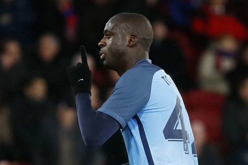 Manchester City midfielder Yaya Toure said that he isn't thinking about the next season.