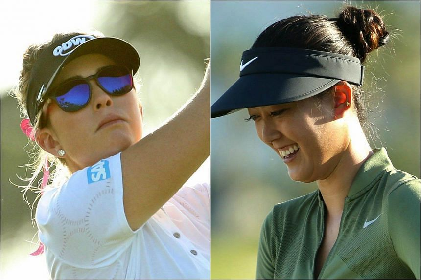 Paula Creamer (left) and Michelle Wie received sponsor invitations to the HSBC Women's Champions.