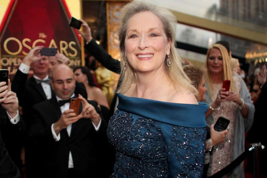Actress Meryl Streep at the 89th Annual Academy Awards at Hollywood & Highland Center on Sunday (Feb 26) in Hollywood, California.