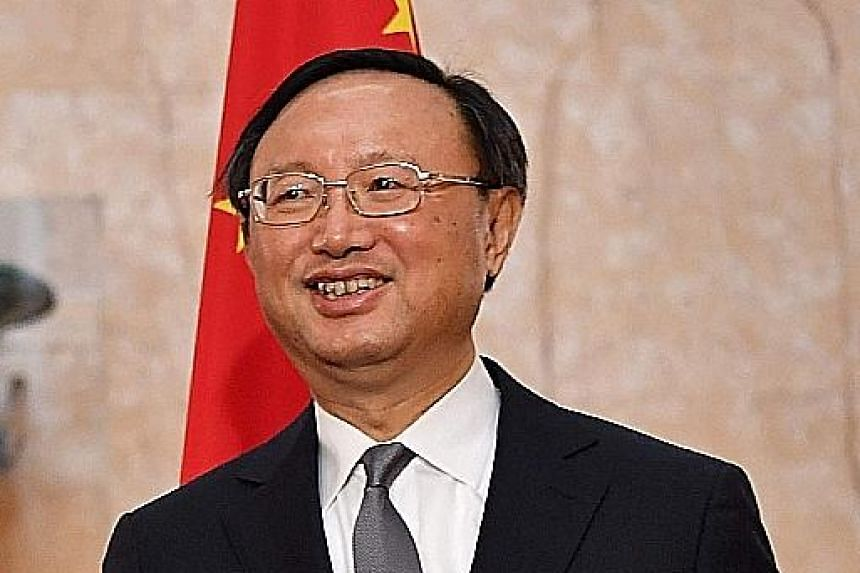 Mr Yang will be the first senior Chinese official to visit the US since Mr Trump took office.