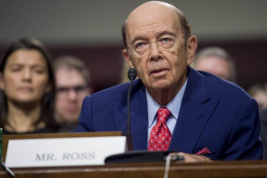 Wilbur Ross testifies during his confirmation hearing for Secretary of Commerce before the Senate Commerce, Science and Transportation committee on Capitol Hill in Washington, DC.