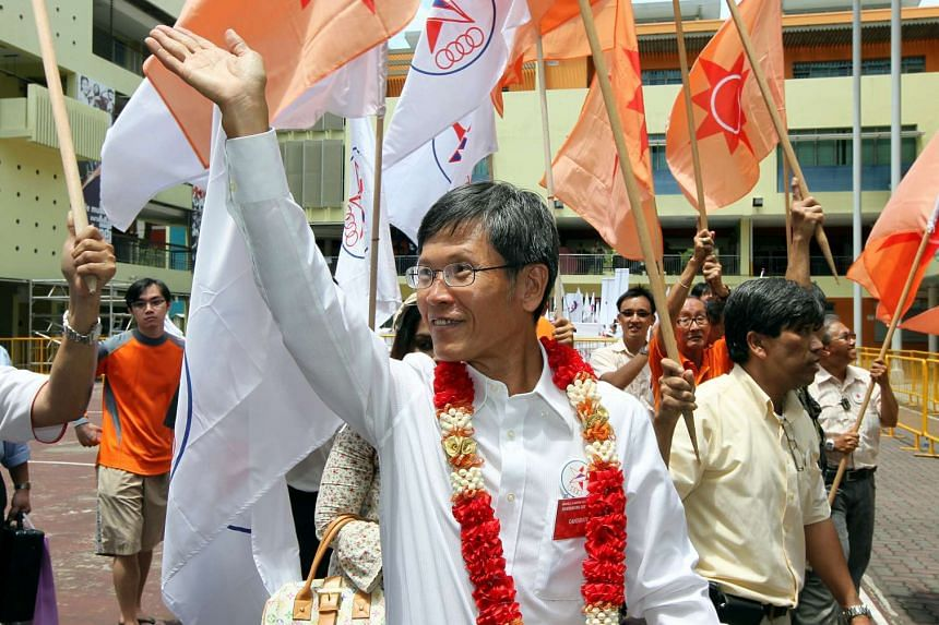 Singapore People's Party (SPP) founder Sin Kek Tong, seen in this 2011 photo, died on Monday night (Feb 27).