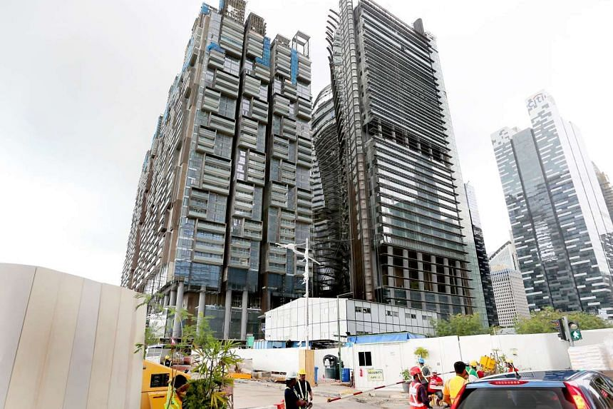 A worker died at the construction site of mixed-use development Marina One on March 1, 2017, after falling about 20 storeys.