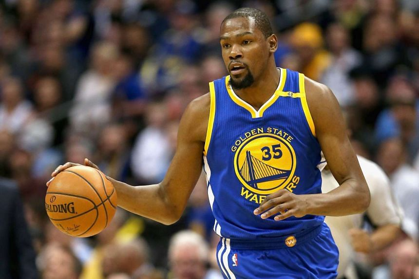 Durant (above) could return before the end of the regular season.