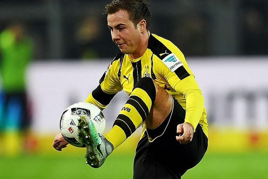 Dortmund midfielder Mario Gotze has struggled for form and battled with injury since returning to his hometown club this season. The latest blow to hit him is a metabolism disorder.
