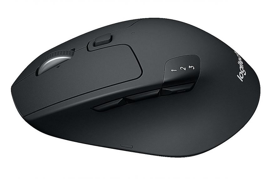Mouse that runs up to three devices, PCs News & Top Stories - The