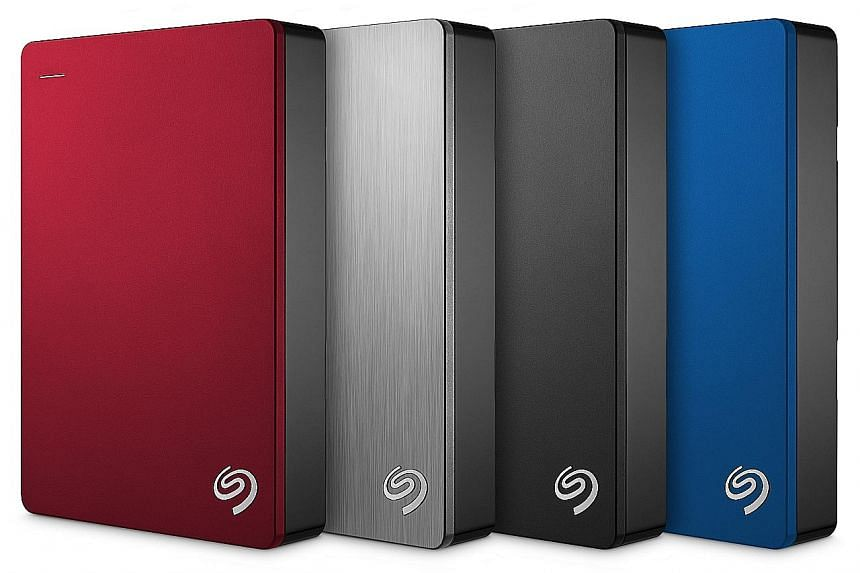 The handy Seagate Backup Plus Portable weighs just 247g.