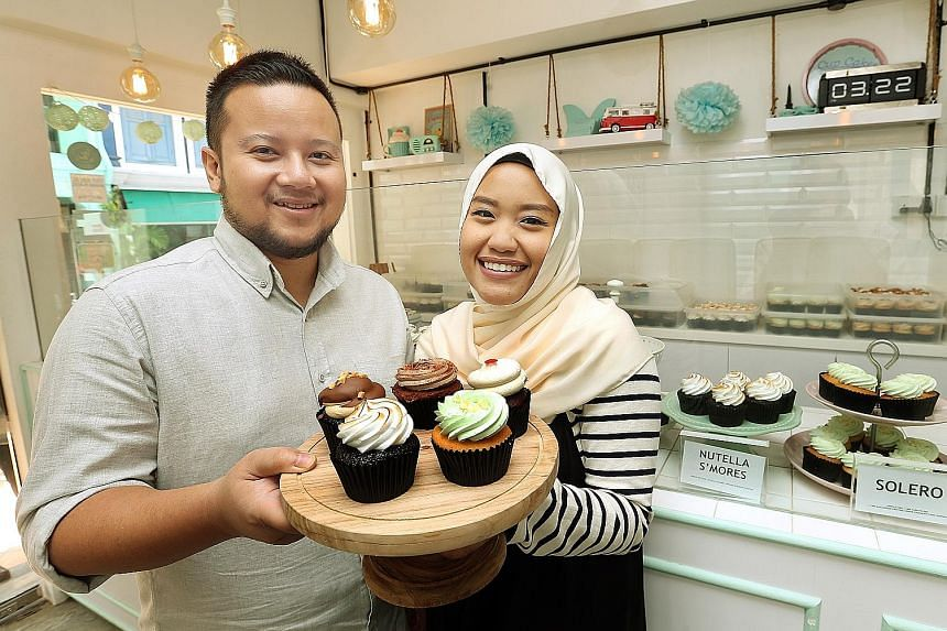 Ms Syaira and Mr Ashraf, who started Fluff Bakery four years ago, hope to open a store in Malaysia in May. The potential for Singapore businesses like theirs in the region was highlighted by Mr Iswaran yesterday.