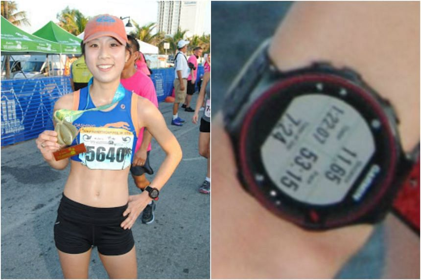 Food blogger Jane Seo's course cutting at the Fort Lauderdale A1A Half Marathon was discovered when a photo of her GPS watch, which showed the number of miles she ran, did not tally with the race distance.