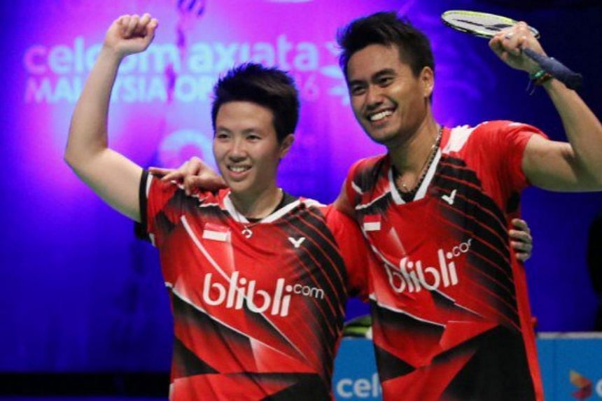 Mixed doubles gold medallists from the Rio Games, Liliyana Natsir and Tontowi Ahmad will spearhead Indonesian team to OUE Singapore Open, on April 11-16.