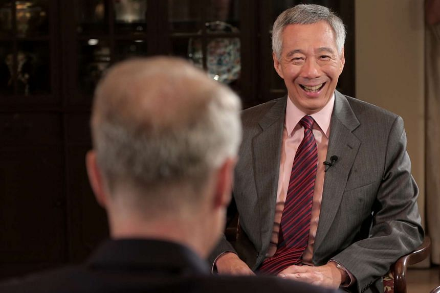PM Lee Hsien Loong chats with BBC HARDTalk presenter Stephen Sackur.