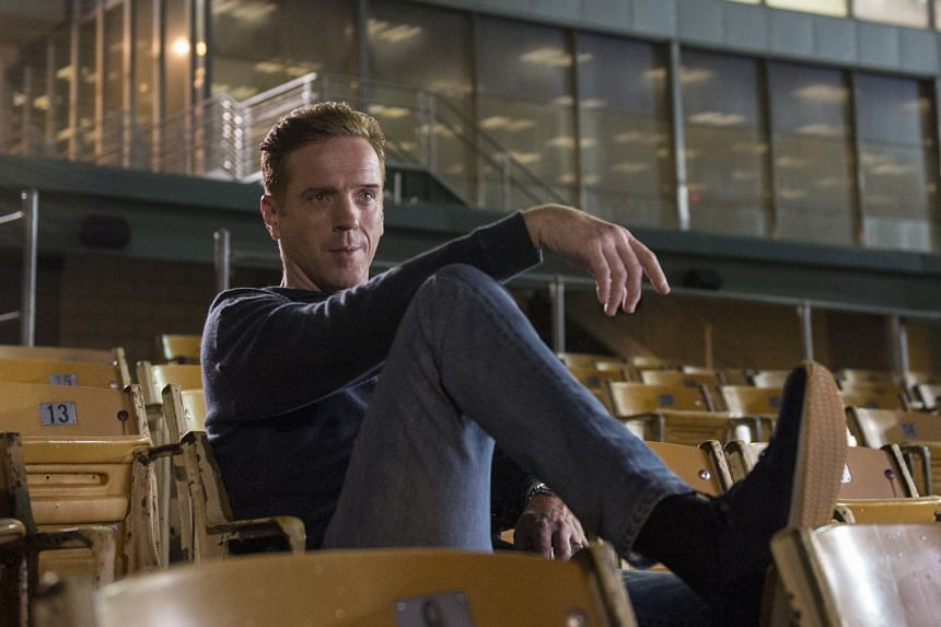 Damian Lewis plays charismatic billionaire Bobby Axelrod in Billions.