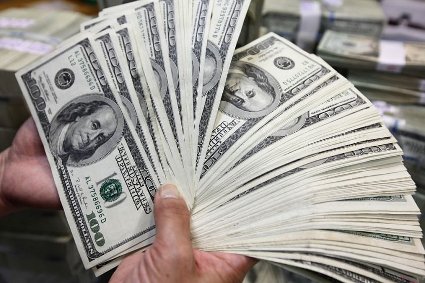 The dollar index, which tracks the greenback against a basket of trade-weighted peers, jumped 0.35 per cent to 101.47 on Wednesday.