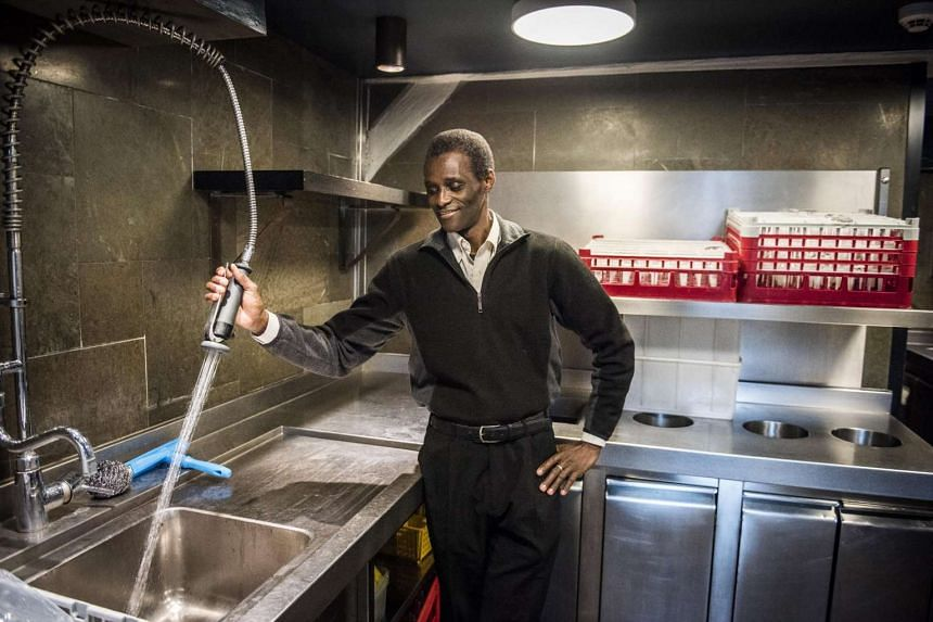 Ali Sonko, who has been working as a dishwasher at Noma for 14 years, was made a partner of the restaurant in February.