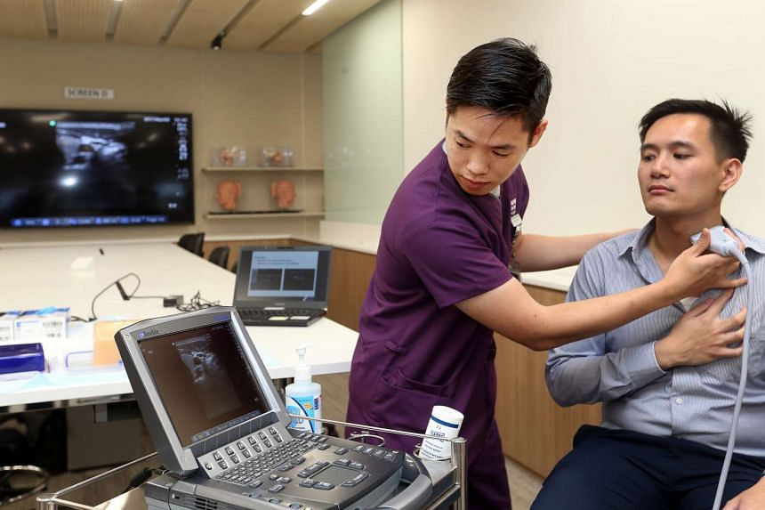 NTU's new 20-storey Clinical Sciences Building is equipped with a host of cutting-edge technologies and facilities such as a simulation ward, doctor-patient consultation rooms and learning studios.