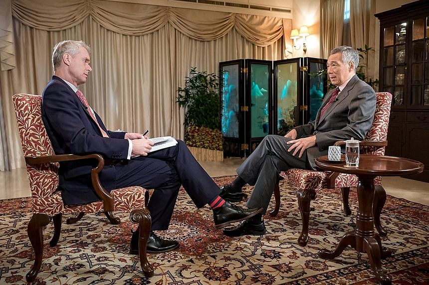 PM Lee was also asked by Mr Sackur about Singapore-China ties, in the light of Hong Kong's seizure of nine Singapore Armed Forces Terrex infantry carriers on their way back from a military exercise in Taiwan last December. PM Lee said he would not sa
