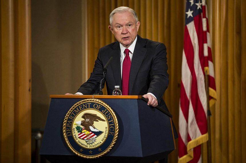 As attorney-general, Mr Jeff Sessions oversees the Justice Department and the FBI, which have been leading investigations into Russian meddling and any links to Mr Trump's associates.