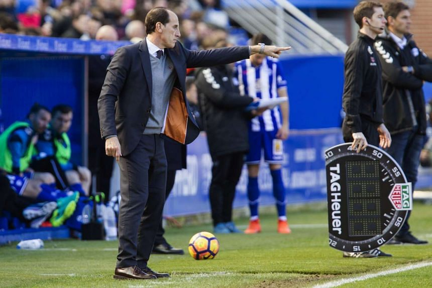 """Valencia coach Salvador """"Voro"""" Gonzalez said his team was more settled and confident after the win over Leganes on Tuesday (Feb 28)."""