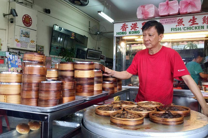 Owner Mr Sam Siew at Hua Nam Restaurant on Upper Thomson Road.