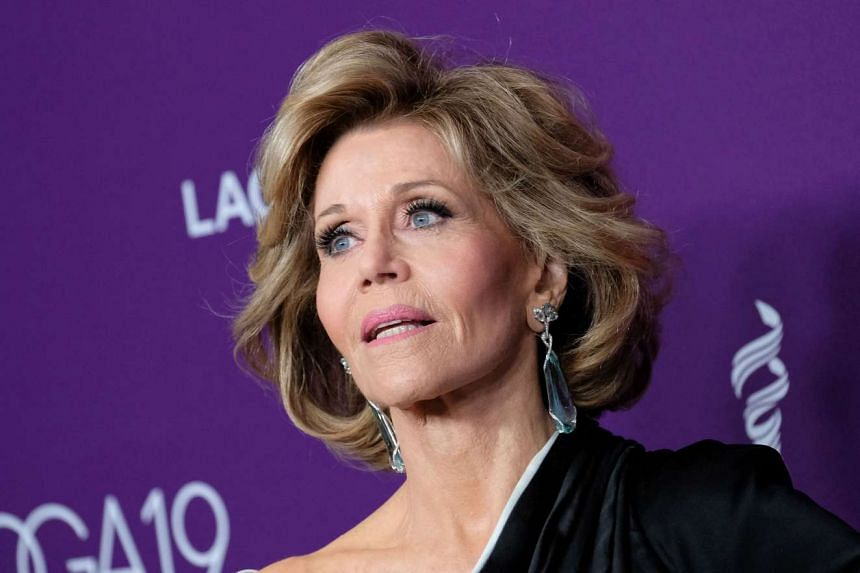 Fonda (above), a two-time Oscar winner, made the comments in an interview marking International Women's Day on March 8.