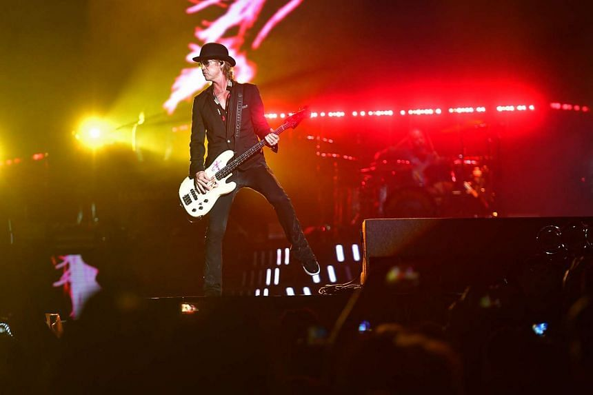 Guns N' Roses concertgoers may apply for a refund for unused credit if they had topped up their iGO eWallets up to 48 hours before the concert.