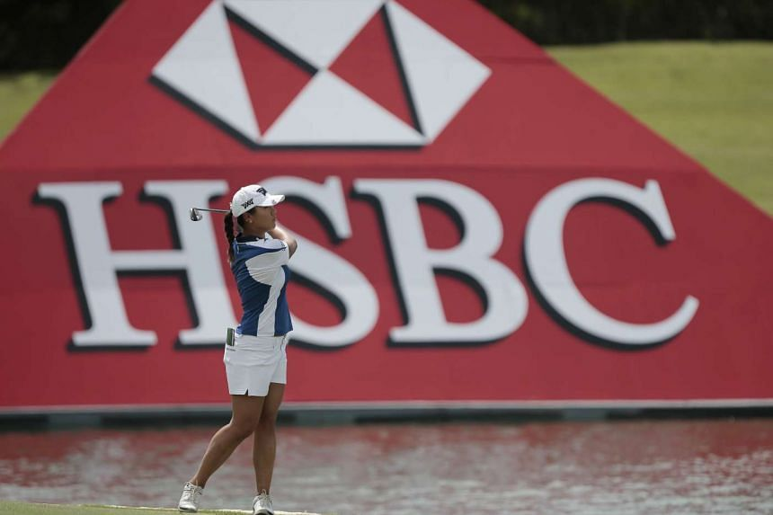 Lydia Ko of New Zealand at the HSBC Women's Champions in Singapore, on March 2, 2017.