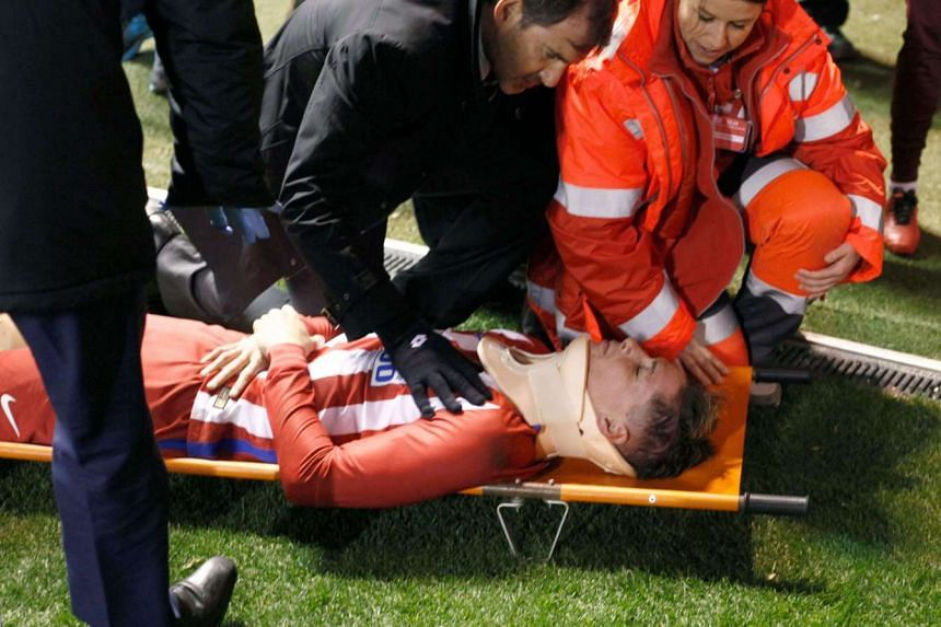 A CT scan on Fernando Torres revealed the Atletico Madrid striker suffered no traumatic brain injuries in an on-field clash on Thursday (March 2).