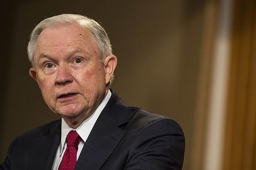 US Attorney-General Jeff Sessions.