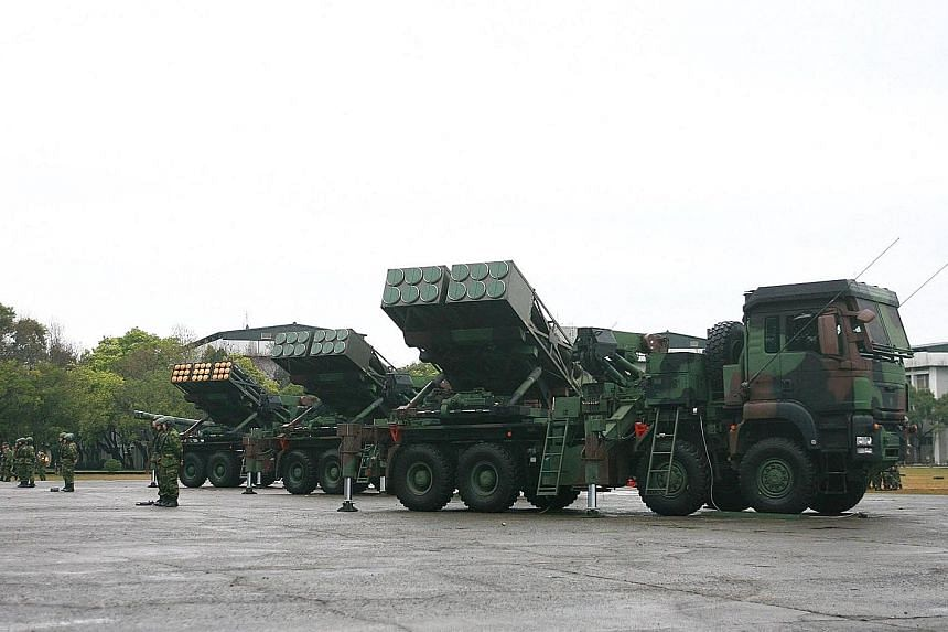 """Taiwan's PAC-3 surface-to-air missile systems have been deployed on the island's eastern coast """"entirely for the security of our country"""", says Defence Minister Feng Shih-kuan."""
