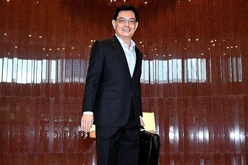 Mr Heng Swee Keat, Finance Minister.