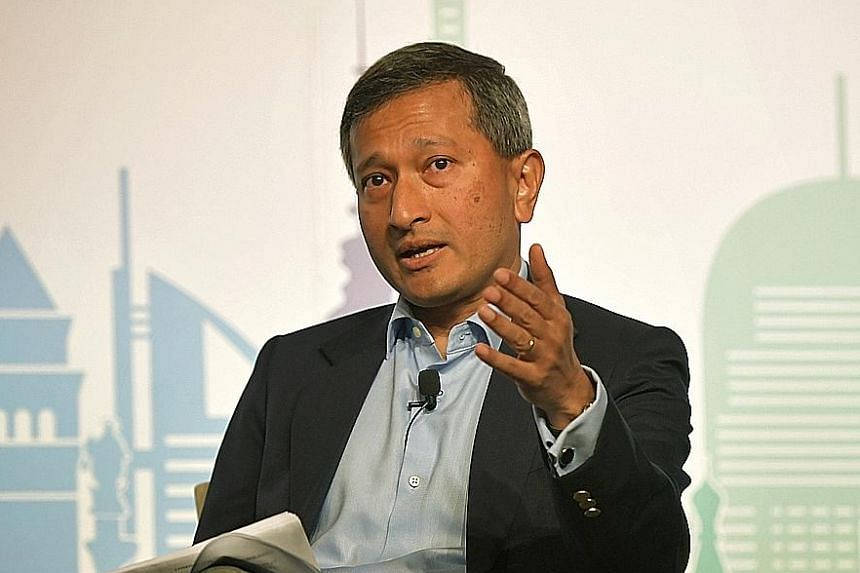 Dr Vivian Balakrishnan, Minister-in-charge of the Smart Nation Initiative.