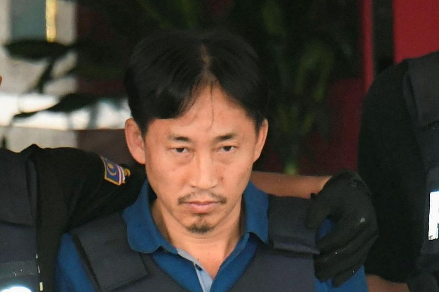 North Korean suspect in Kim Jong Nam murder, Ri Jong Chol, leaving a Sepang police station to be deported, in Malaysia, on March 3, 2017, in this photo taken by Kyodo.