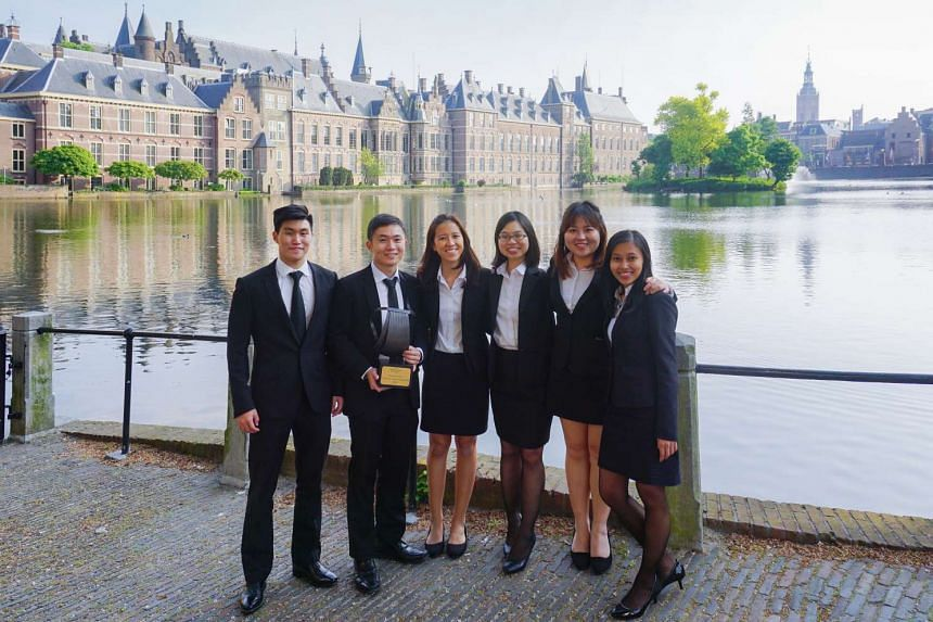 SMU is the first university to win the prestigious international criminal court moot competition two years in a row.