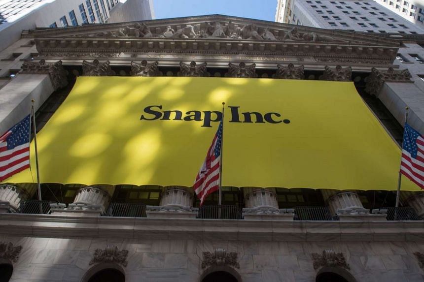 Snap's shares started trading in New York yesterday, with early indications pointing to its shares opening up at between US$22 and US$24.