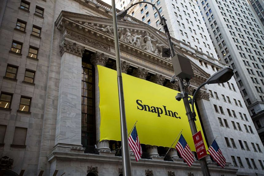 Snap Inc. surged 44 per cent in its stock market debut, valuing parent of disappearing-photo app Snapchat at more than US$28 billion.