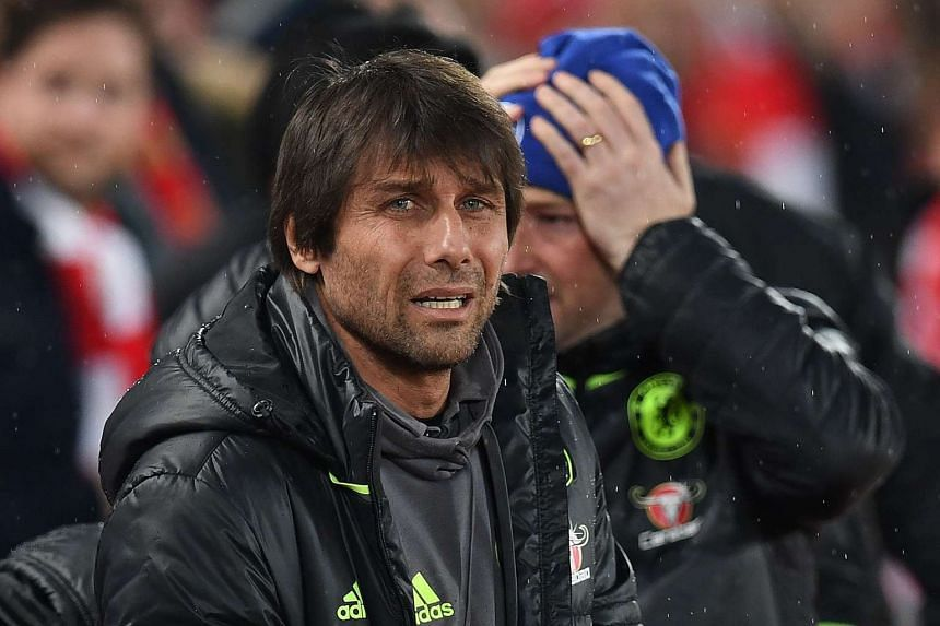 Chelsea's Italian head coach Antonio Conte has been linked with a move to Inter Milan.