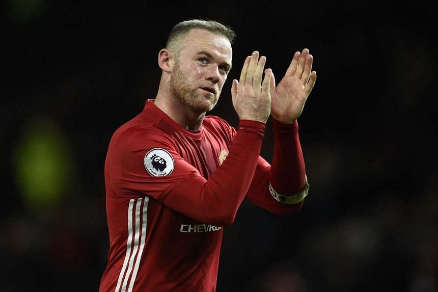 Media reports have said Rooney (above) is open to the idea of returning to his boyhood club Everton at the end of the season.