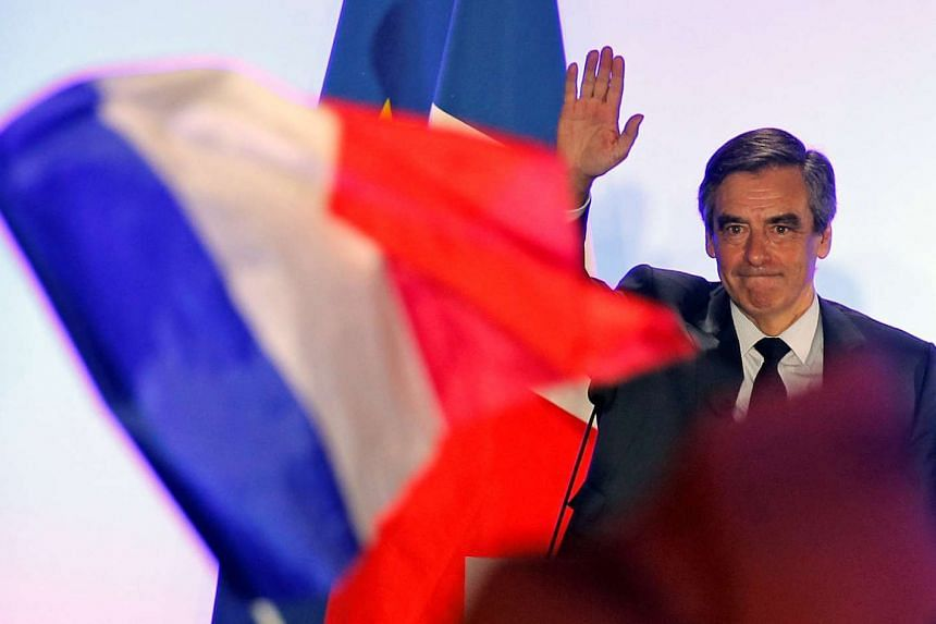 Francois Fillon attends a political rally in Nimes, France March 2, 2017.