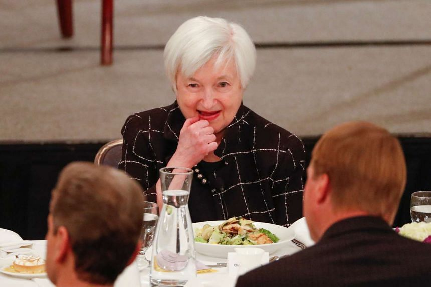 Federal Reserve chairman Janet Yellen attends the Executives Club of Chicago, March 3, 2017.