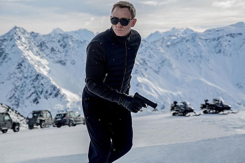 Actor Daniel Craig as James Bond in the movie Spectre. MI6 said the Bond brand has attracted a lot of good people but also put off equally fantastic people.